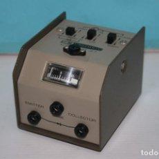Radios antiguas: COMPROBADOR DE TRANSISTORES. Lote 96548603