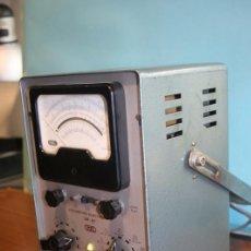 Radios antiguas: VOLTIMETRO A VALVULA. Lote 96548967