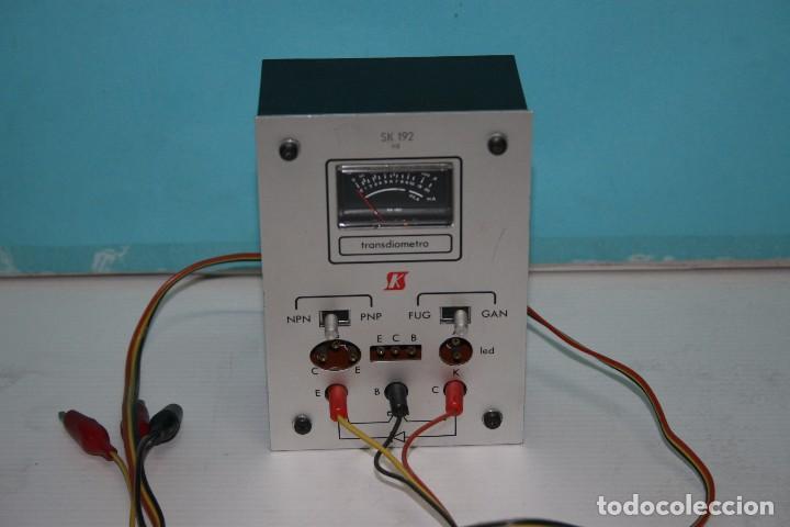 COMPROBADOR DE TRANSISTORES (Radios - Aparatos de Reparación y Comprobación de Radios)