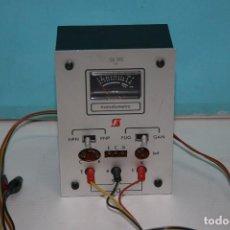 Radios antiguas: COMPROBADOR DE TRANSISTORES. Lote 96549695