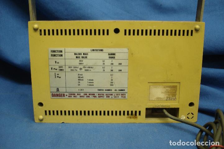Radios antiguas: TESTER, MULTIMETER TEK ELEC MDLO. TE 360 - Foto 3 - 97637547