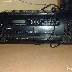 Radios antiguas: RADIOCASETE SANYO M W748L. IDEAL COLECCIONISTAS. DOBLE PLETINA. Lote 98064503