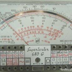 Radios antiguas: SUPERTESTER ICE 680 G - MUSTIMETRO SUPER TESTER - 680G - ITALY SOLO TESTER. Lote 98437763