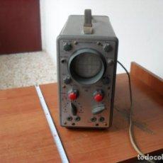 Radios antiguas: OSCILOSCOPIO GRUNDIG,FUNCIONANDO,A VALVULAS,ALEMAN BUENA MAQUINA. Lote 98492419