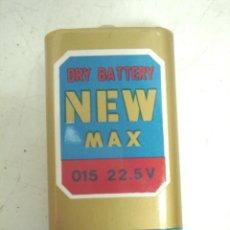 Radios antiguas: RARA Y ANTIGUA PILA BATERIA - DRY BATTERY NEW MAX 22.5 V-TOYO TAKASOGO 15F20 1982 - RADIO. Lote 99459591