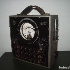 Radios antiguas: ANTIGUO COMPROBADOR DE RADIOS : G.H . Lote 100636719