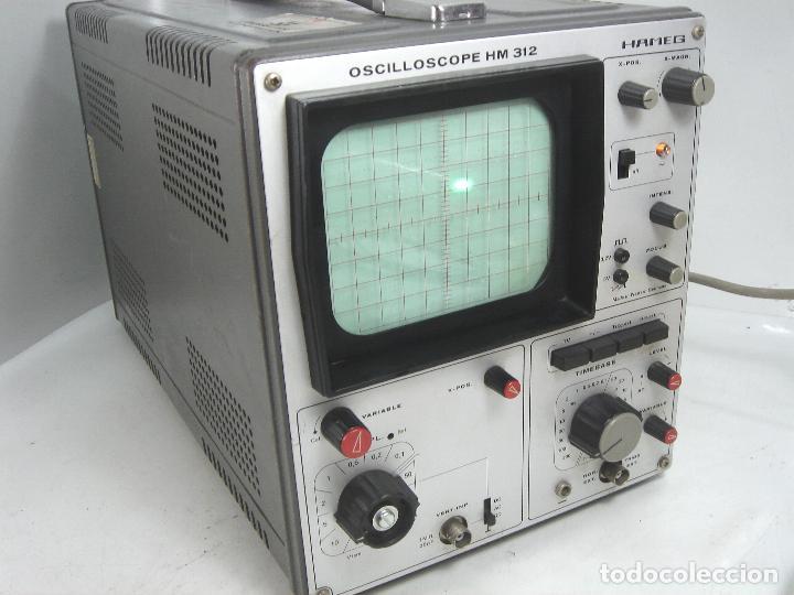 OSCILOSCOPIO HAMEG HM-312 ¡¡FUNCIONANDO¡¡ OSCILLOSCOPE HM312 - VALVULAS -ALEMANIA 1980 (Radios - Aparatos de Reparación y Comprobación de Radios)