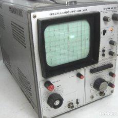 Alte Radios - OSCILOSCOPIO HAMEG HM-312 ¡¡FUNCIONANDO¡¡ OSCILLOSCOPE HM312 - VALVULAS -ALEMANIA 1980 - 101938023