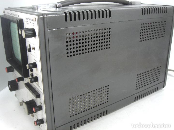 Radios antiguas: OSCILOSCOPIO HAMEG HM-312 ¡¡FUNCIONANDO¡¡ OSCILLOSCOPE HM312 - VALVULAS -ALEMANIA 1980 - Foto 8 - 101938023