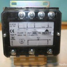 Radios antiguas: TRANSFORMADOR RENNO. . Lote 103526687