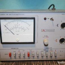 Radios antiguas: ANALIZADOR DE SEMICONDUCTORES. Lote 103527443