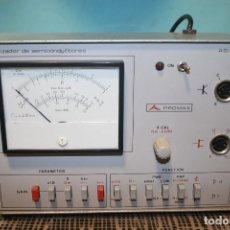 Radios antiguas: ANALIZADOR DE SEMICONDUCTORES. Lote 104383271