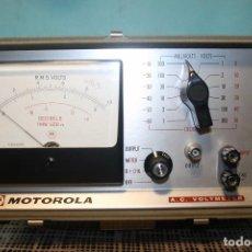 Radios antiguas - AC. volmeter MOTOROLA. - 104383811