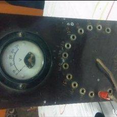 Radios antiguas: ANTIGUO VOLTIMETRO PARA RADIOS. Lote 105120895
