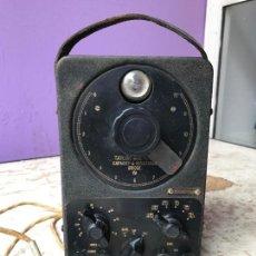 Radios antiguas: APARATO DE COMPROBACION DE RADIOS CAPACIMETRO - TAYLOR CAPACITY & RESISTANCE BRIDGE. Lote 105631843