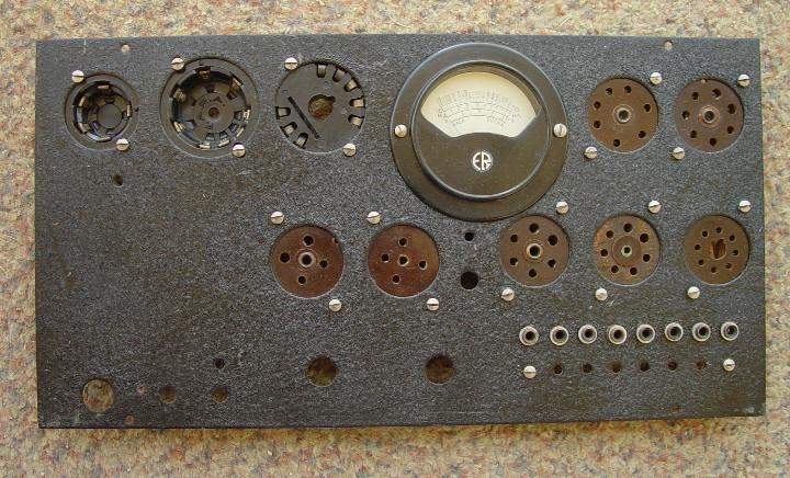 COMPROBADOR VALVULAS RADIO MAYMO. PARA RECONSTRUIR.....SANNA (Radios - Aparatos de Reparación y Comprobación de Radios)