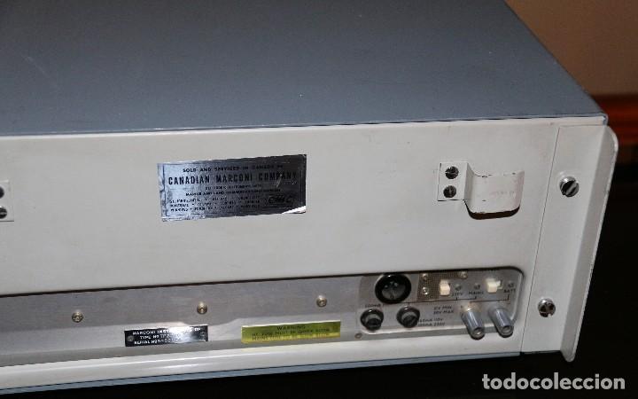 Radios antiguas: MARCONI - TF 2300 - AM - FM MODULATION METER - Foto 6 - 109619363