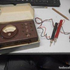Radios antiguas: APARATO RADIO ESCUELA MAYMO EN SU CAJA. Lote 111373159