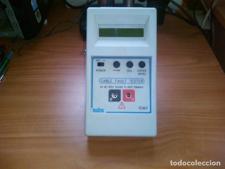 LOCALIZADOR DE FALLOS EN CABLES. MOLHER ICM2 0 A 60KM. 0 TO 60KM (Radios - Aparatos de Reparación y Comprobación de Radios)