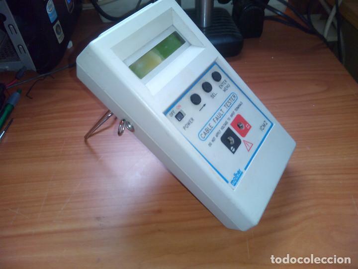 Radios antiguas: Localizador de fallos en Cables. molher ICM2 0 a 60Km. 0 to 60Km - Foto 4 - 113372719