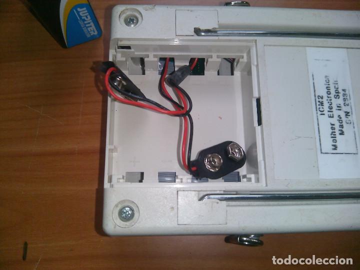 Radios antiguas: Localizador de fallos en Cables. molher ICM2 0 a 60Km. 0 to 60Km - Foto 6 - 113372719