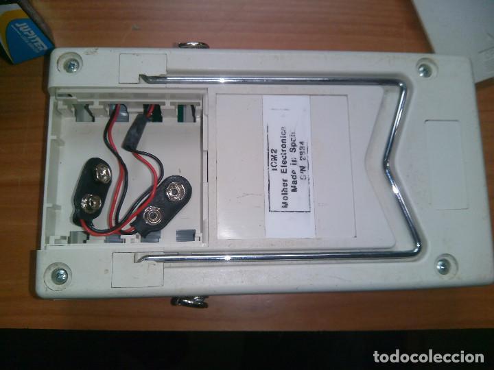 Radios antiguas: Localizador de fallos en Cables. molher ICM2 0 a 60Km. 0 to 60Km - Foto 7 - 113372719
