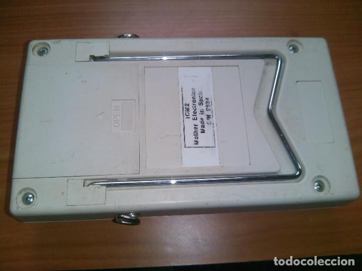 Radios antiguas: Localizador de fallos en Cables. molher ICM2 0 a 60Km. 0 to 60Km - Foto 8 - 113372719