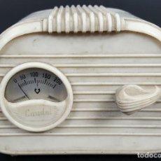Radios antiguas: ELEVADOR / REDUCTOR DE VOLTAJE PARA RADIOS. MARCA CAUDAL. AÑOS 50. . Lote 114516579