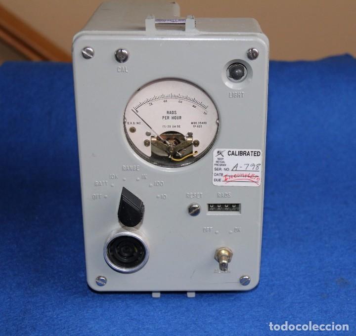RADIACMETER - IM-191-PDR-65 VINTAGE 1950 (Radios - Aparatos de Reparación y Comprobación de Radios)