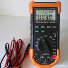 Radios antiguas: MULTIMETRO-POLIMETRO-TESTER DIGITAL MODELO DP10IN1.. Lote 115064395