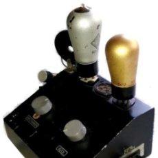 Radios antiguas: C56 - ANTIGUO COMPRABOR. VALVULAS. RADIO.. Lote 115247779