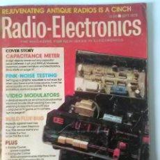 Radios antiguas: REVISTA RADIO-ELECTRONICS, Nº 9, SEPTIEMBRE 1978, CON ARTÍCULO DE REPARACIÓN RADIOS DE VÁLVULAS. Lote 115294627
