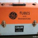Radios antiguas: MALETA GENERAL ELECTRIC PARA REPARADORES AÑOS 70 USA ( COLECCION ). Lote 116412575