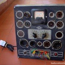 Radios antiguas: COMPROBADOR DE VALVULAS VERTICAL, DE RADIO MAYMO....SANNA. Lote 133870226