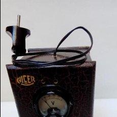Radios antiguas: TRANSFORMADOR ALCER. Lote 117023483