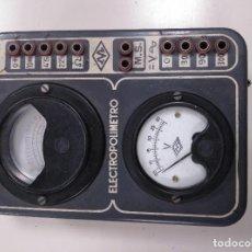Radios antiguas: ELECTROPOLIMETRO MAYMO. Lote 121299683