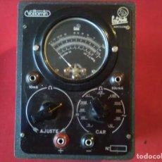 Radios antiguas: PRECIOSO ANALIZADOR VOLTAMIN 52 EQUIPO DE MEDIDA Y SERVIVICIO(DE LABORATORIO) PORTÁTIL SIN RED . Lote 122063575