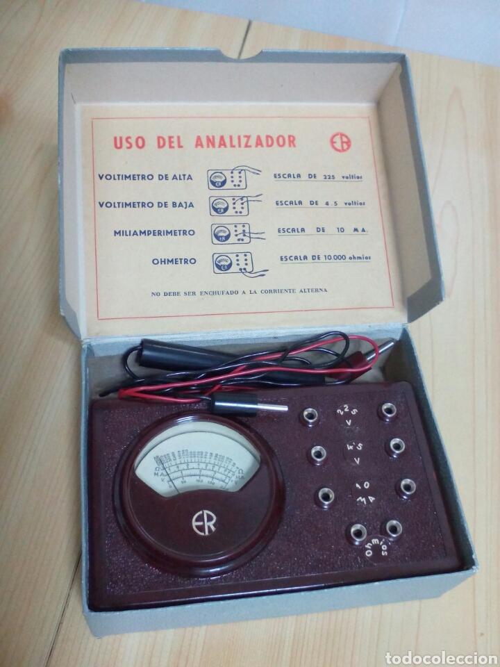 ANTIGUO ANALIZADOR ER (Radios - Aparatos de Reparación y Comprobación de Radios)