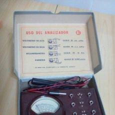 Radios antiguas: ANTIGUO ANALIZADOR ER. Lote 123039628