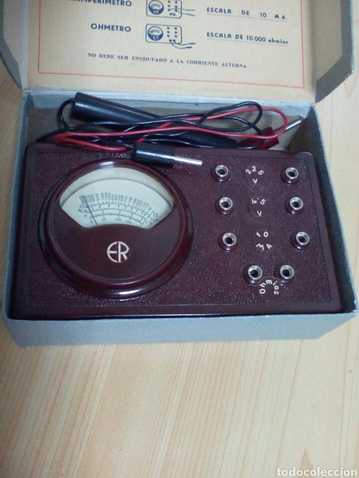 Radios antiguas: ANTIGUO ANALIZADOR ER - Foto 2 - 123039628