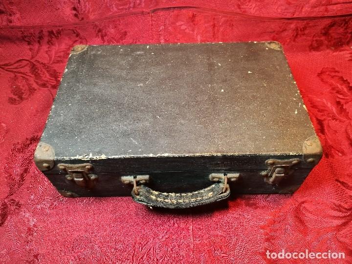 Radios antiguas: MALETIN COMPROBADOR DE VÁLVULAS ESCUELA DE RADIO MAYMO. CIRCA 1940. - Foto 5 - 123383951