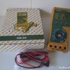 Radios antiguas: MULTÍMETRO-POLIMETRO- TESTER-KOBAN KM-04. Lote 127191703