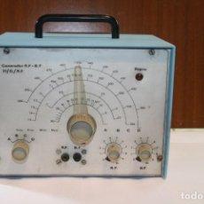 Radios antiguas: GENERADOR DE RADIOFRECUENCIA AFHA.. Lote 128265603