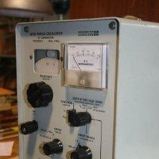 Radios antiguas: GENERADOR DE BF. RADIOMETER. Lote 128265751