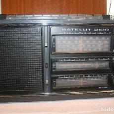 Radios antiguas: RECEPTOR GRUNDIX SATELLIT MODELO 2,100. Lote 128266203