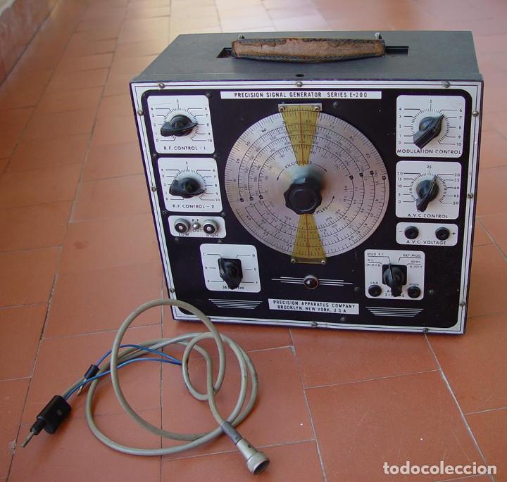 Radios antiguas: Generador de RF radio Frecuencia Precision E-200 Series....sanna - Foto 2 - 128611599