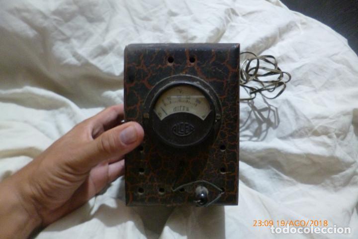 ELEVADOR REDUCTOR ALCER PARA RADIOS ANTIGUAS (Radios - Aparatos de Reparación y Comprobación de Radios)