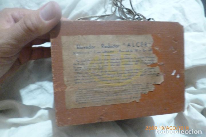 Radios antiguas: elevador reductor alcer para radios antiguas - Foto 3 - 131132888