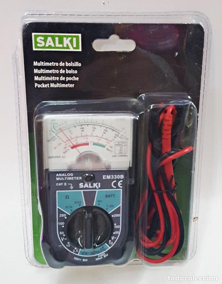 MULTIMETRO ANALOGICO SALKI EM-330-B (Radios - Aparatos de Reparación y Comprobación de Radios)