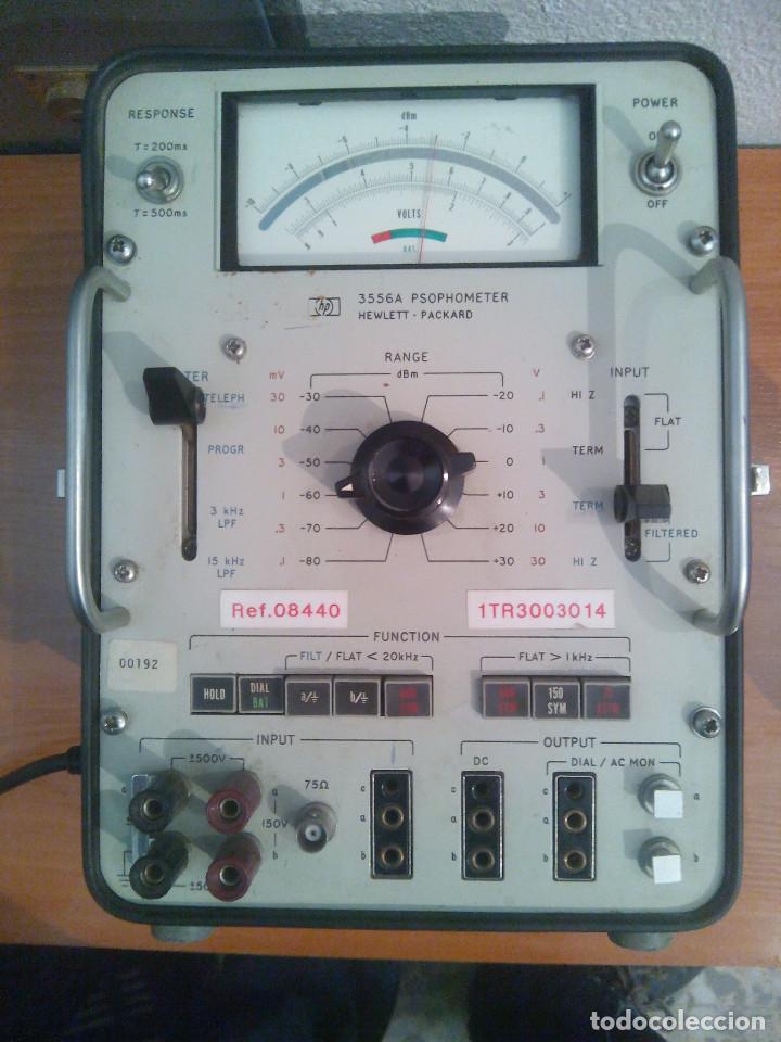 SOFOMETRO HP 3556A PSOPHOMETER (ESCUCHO OFERTAS) (Radios - Aparatos de Reparación y Comprobación de Radios)